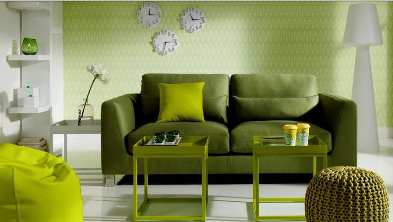 Salones con color - Colores para pintar un salon pequeno ...