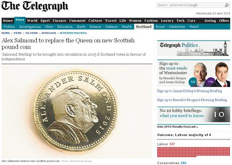 Moneda de Escocia