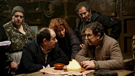 Estreno de «A Esmorga» en el auditorio Alovi de As Pontes - La Voz de Galicia