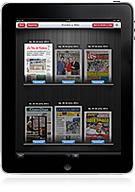 La Voz de Galicia en la versión digital en PDF de la aplicación para iPad Kiosko y más