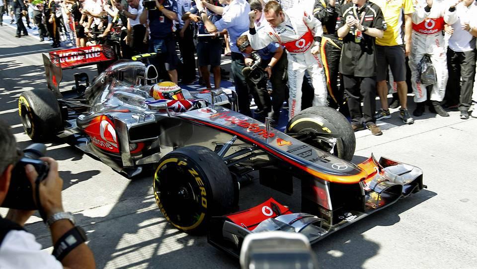 Hamilton ganó el Gran Premio de Canadá
