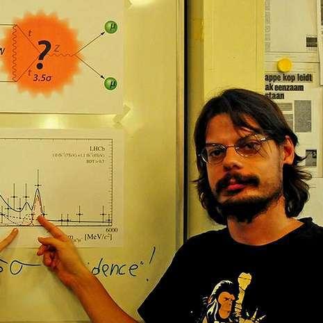 Diego Martínez Santos se formó en la USC y trabaja en Holanda