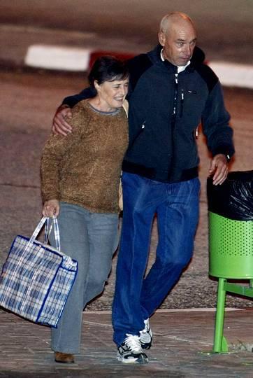 Santi Potros a la salida de la cárcel de Villena en Alicante. Morell | EFE
