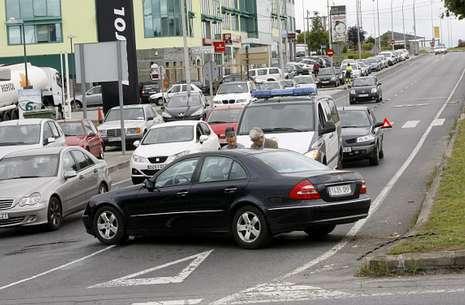 accidente en O Ceao, Galicia