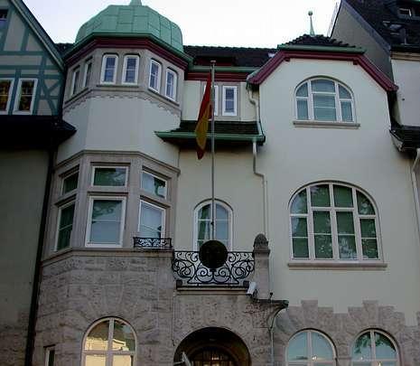 Sede de la agencia consular de España en Basilea.