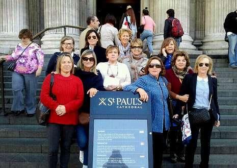 Un grupo de ribeierenses disfrutaron de una escapada a Londres.