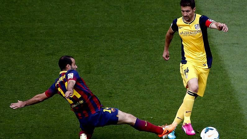 Atl. de Madrid, Sanlorenzea y parcialmente pierde la Liga