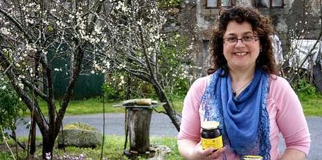 Mari Fe Sixto es una de las apicultoras más laureadas de la comarca.