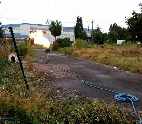 Pérdidas en instalaciones de gas en Galicia.