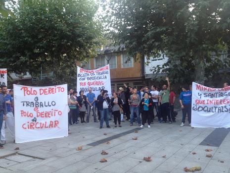 La protesta es en O Barco Lolita Vázquez