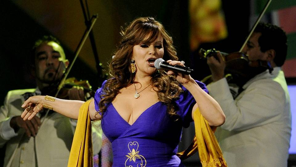 Jenni Rivera en un concierto en Las Vegas en 2010 PAUL BUCK / EFE