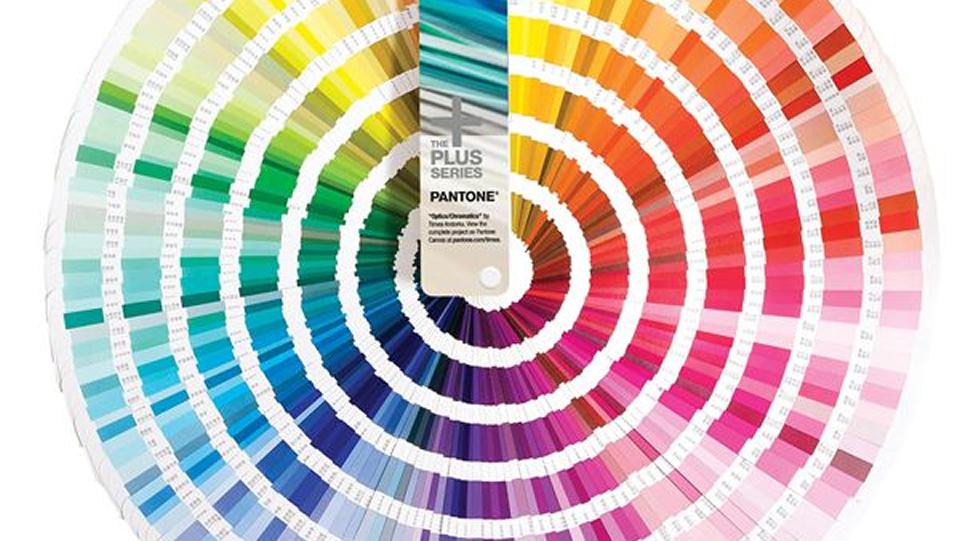 La paleta de colores Facebook Pantone