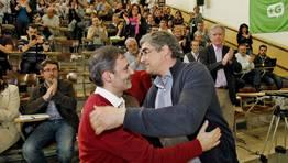 Nace un nuevo partido nacionalista en Galicia. La asamblea  M�is Galiza ha decidido la escisi�n de la corriente del BNG FOT�GRAFO: XO�N A. SOLER