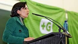 Parte del poder institucional que hasta ahora aglutinaba la corriente se queda en el BNG. La alcaldesa de Tomi�o, Sandra Gonz�lez, habl� en contra de la secesi�n FOT�GRAFO: XO�N A. SOLER