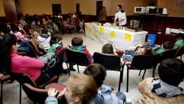 En total participaron 50 alumnos del colegio rural agrupado Clara Torres y del colegio n�mero 1 de Tui. FOT�GRAFO: M. MORALEJO