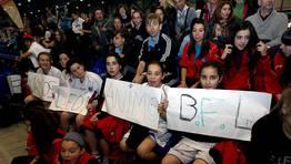 Los integrantes de varias categor�as del BFL apoyaron a sus compa�eras en la final FOT�GRAFO: MARTINA MISER
