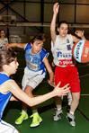 Las chicas del BFL se enfrentaron  al Gij�n en la final Infantil FOT�GRAFO: MARTINA MISER