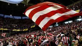 El Athletic venci� 3-1 al Sporting de P�rtugal y remont� el resultado de la ida (2-1). FOT�GRAFO: LUIS TEJIDO | EFE