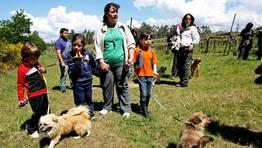 El d�a acompa�� en el paseo por la Laguna FOT�GRAFO: MARTINA MISER