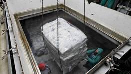"""La capacidad de las bodegas del """"Igueldo"""" es de 2.146 metros c�bicos FOT�GRAFO: RAMON LEIRO"""
