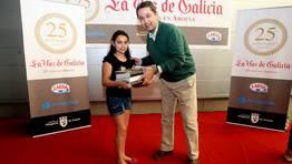 El primer accesit fu� para Ux�a Paz Call�n del Colegio Sagrada Familia FOT�GRAFO: MARTINA MISER