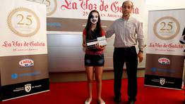 El tercer accesit fu� para S�fora Carro Gonz�lez del CEIP Armenteira FOT�GRAFO: MARTINA MISER