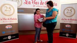 El quinto accesit fu� para Miriam Otero Rodr�guez del Colegio Julia Becerra Malvar FOT�GRAFO: MARTINA MISER