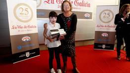 El sexto accesit fu� para Eva Est�vez Gonz�lez del Colegio San Roque de Cor�n FOT�GRAFO: MARTINA MISER