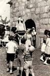 Fiesta de A Espi�a, Celeiro de Mari�aos, Barreiros, sin datar. FOT�GRAFO: Cedida