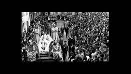 Semana Santa de Viveiro, Santo Entierro, a�o 1960. FOT�GRAFO: FOTO CARLOS. Cedida por Junta de Cofrad�as.