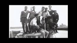 Grupo de amigos el muelle de Ferrol FOT�GRAFO: Jos� Santos