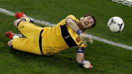 Iker Casillas (Espa�a). FOT�GRAFO: YVES HERMAN | REuters