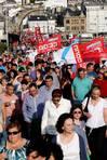 Según la organización, hubo cerca de cuatro mil personas en la manifestación FOTÓGRAFO: PEPA LOSADA