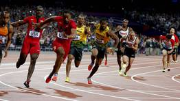 La final del 4x100 metros lisos masculino. FOT�GRAFO: MARK BLINCH | Reuters