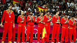 La selecci�n espa�ola de baloncesto sum� la medalla 17 tras una �pica final contra Estados Unidos. FOT�GRAFO: Juan Carlos Hidalgo | Efe