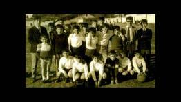 En el antiguo campo del Numancia de Ares, a mediados de la d�cada de los 60 FOT�GRAFO: Silas Garc�a