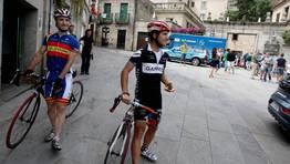 La Vuelta a Espa�a ya lleg� a Galicia. FOT�GRAFO: MONICA IRAGO