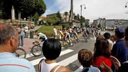 El paso de la Vuelta por Pontevedra FOT�GRAFO: RAMON LEIRO