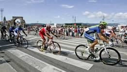 La Vuelta pasa por Mar�n. FOT�GRAFO: VICTORIA AMOEDO