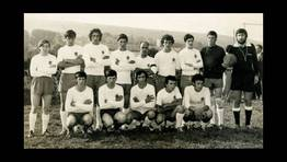 Equipo de f�tbol de Gra�as do Sor, Gransor C.F., en la d�cada de los 70 FOT�GRAFO: Ernesto Vale Carball�s