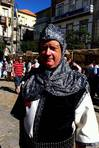 Merlin Mather acudi� con su mujer a la zona intramuros FOT�GRAFO: MARCOS GAGO
