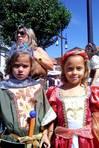 Laura y Sandra Lomba Nogueira llegaron a Pontevedra desde A Guarda FOT�GRAFO: ALEJANDRO D. ROMANO