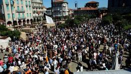 Miles de personas toman parte en la fiesta FOT�GRAFO: CAPOTILLO