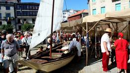 Miles de personas visitan la zona en la que se recrean los oficios de la época FOTÓGRAFO: CAPOTILLO