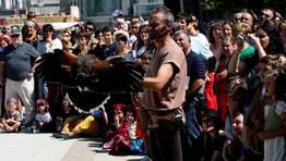 Exhibición de cetrería FOTÓGRAFO: CAPOTILLO
