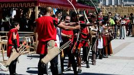 El tiro con arco, una de las actividades de la jornada FOT�GRAFO: CAPOTILLO