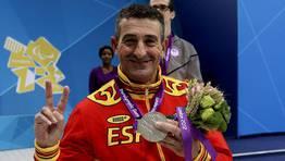 El nadador gallego Chano Rodríguez, uno de los deportistas españoles más laureados. FOTÓGRAFO: Paulino Oribe | EFE