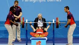 La levantadora de peso paralímpica española Loida Zabala. FOTÓGRAFO: Javier Regueros | EFE