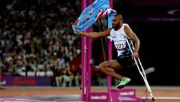 Iliesa Delana, de Islas Fiji, campeón paralímpico de salto de altura. FOTÓGRAFO: STEFAN WERMUTH | Reuters