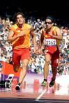 El español Martín Parejo, en los 100 metros lisos. FOTÓGRAFO: Javier Regueros | EFE